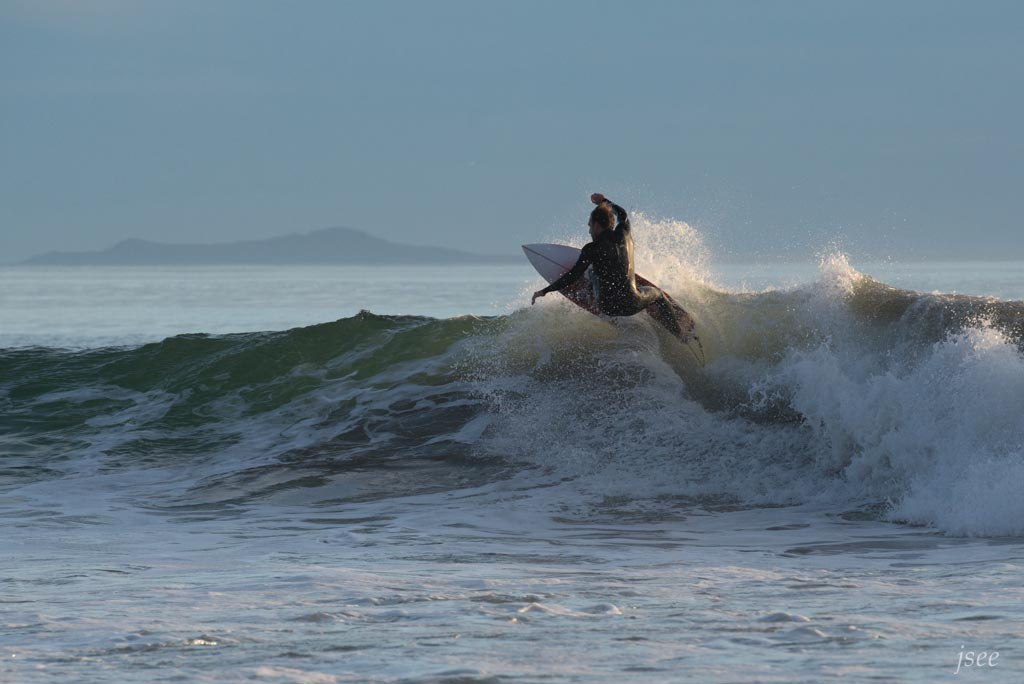 Even if you can't surf like this, you can pretend you do.