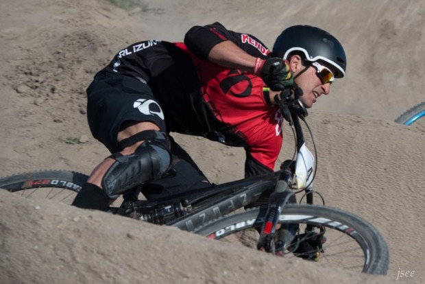 Brian Lopes recently switched from Ibis to Intense. He finished third.